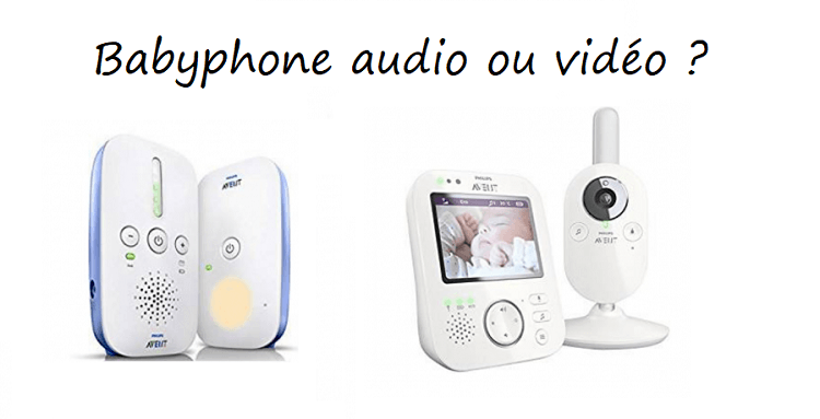 babyphone audio ou video
